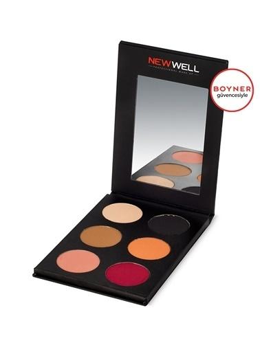 New Well New Well Prof. 6 Pcs. Eyeshadow Palette- 52 Göz Farı Renksiz